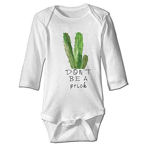 Monicago Neugeborenes Baby-Jungen-Mädchen-Bodysuit-Lange Hülse, Cactus Baby Funny Rompers Long-Sleeve Bodysuits Girls Boys
