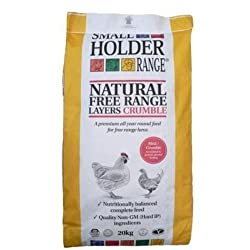 Allen & Page Layers Crumble Complete Poultry Feed, 20 kg