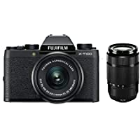 Fujifilm X-T100 Noir + XC15-45mmPZ + XC 50-230mm II Noir