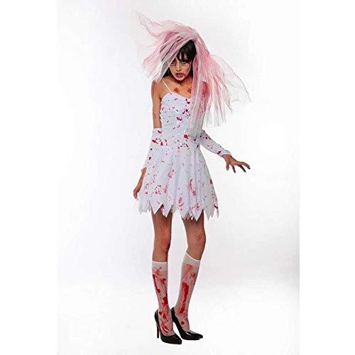 KAIDILA Vampir Kostüm Halloween Kostüm Dark Ghost Braut Hexe Prinzessin Kleid Cosplay - Plus Hexe Kostüm