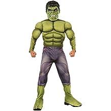 Rubie's - Disfraz para niño, diseño Hulk de Marvel, talla L (610429L)