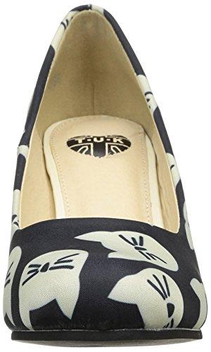 TUK - Vintage, Scarpe col tacco Donna Nero (nero)