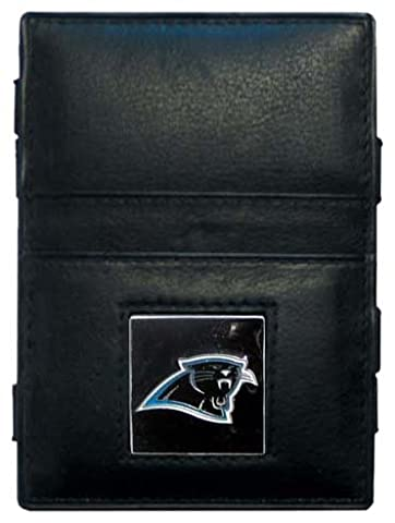 NFL Carolina Panthers Leather Jacob's Ladder Wallet