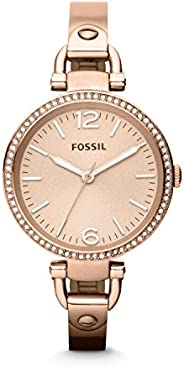 Fossil Casual Ladies Wrist Watch, Rose Gold