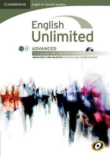 English unlimited for spanish speakers advanced coursebook with e-portfolio (Edición para España)