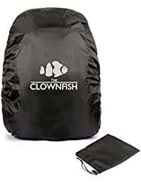 The Clownfish Black Backpack Rain Cover