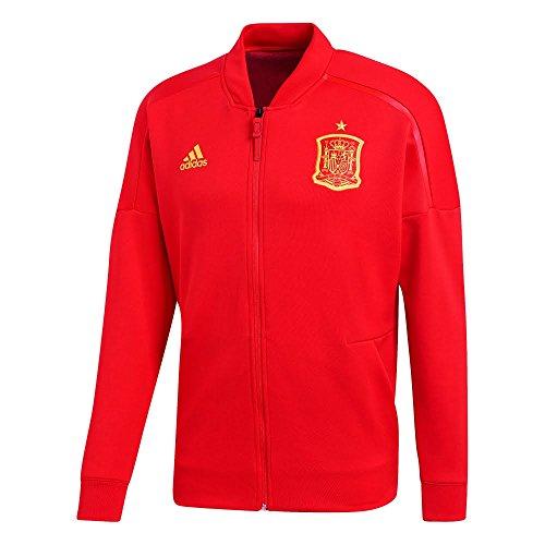 f9f833aea83dd adidas z.n.e España Chaqueta, Todo el año, Hombre, Color Rojo, tamaño Large
