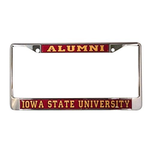 Iowa University Alumni (Iowa State University Cyclones Alumni Nummernschild Rahmen)