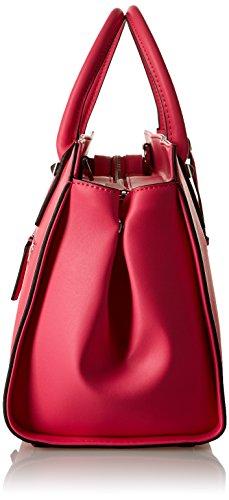 Guess Loree, Borsa a Mano Donna, 18 x 25 x 42 cm (W x H x L) Rosa (Hot Pink)
