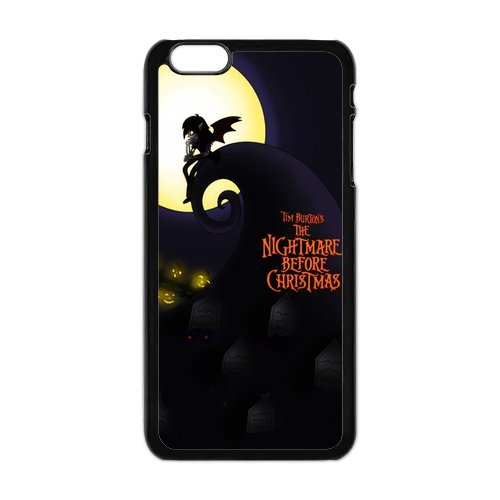iPhone 6Plus Coque de protection en TPU pour, Customize The Nightmare Before Christmas Case for iPhone 6Plus, [The Nightmare Before Christmas] Transparent Back Cover étui en silicone p