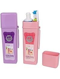 2pcs Travel Bathroom Toothbrush Holder Cover Case Toothbrush Cap Box
