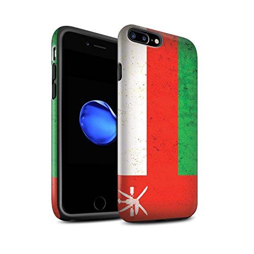 STUFF4 Matte Harten Stoßfest Hülle / Case für Apple iPhone 6 / Georgien/Georgisch Muster / Asien Flagge Kollektion Oman/Omani