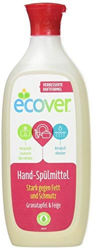 Ecover Geschirrspülmittel Granatapfel und Limette, 6er Pack (6 x 500 ml) Ecover Geschirrspülmittel