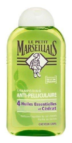 Le Petit Marseillais : Antischuppenshampoo für fettiges Haar mit Zeder, Thymian, Rosmarin, Kamille und Zitrone