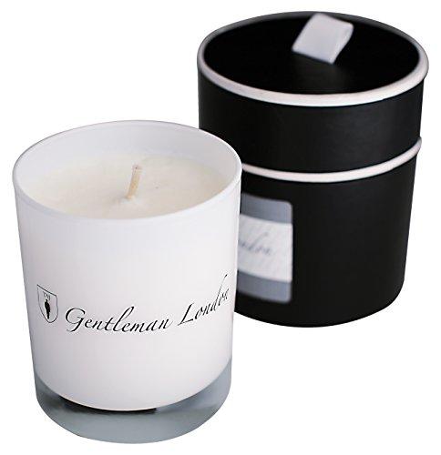 Gentleman London N1 Bougie Naturelle Jasmin/Patchouli Blanc 225 g