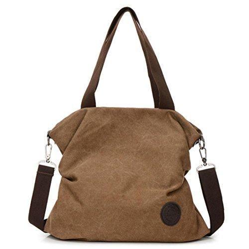 LMMVP Canvas Handbag Women Travel Tote bag Messenger Beach Shoulder Bag Satchel