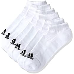 adidas 3S PER N-S HC3P, Calcetines Unisex, Blanco, 43-46, Pack of 3