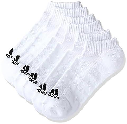 adidas Socken 3er-Pack Performance 3S, Weiß/Schwarz, 47-50, 017073840