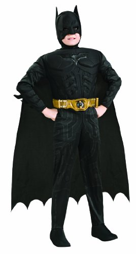 Costume Batman™ Luxe (The Dark Knight Rises™) - Bambino (L - 8/10 anni - 142-153 cm)