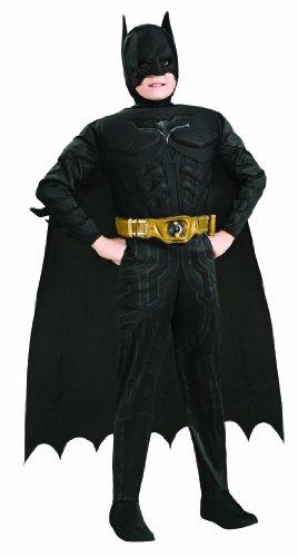 fasching batman Rubie's 3 881290 L - Deluxe Muscle Chest Batman Kostüm, Größe L