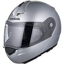 131fbdf1580a7 Schuberth C3 Basic Plata Motocicleta Casco