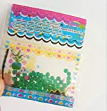 PlenTree 100 PCS Tutti i Tipi di Campioni di Fango Colori Bonsai di Perline di Cristallo della Decorazione del Vaso Fuori Suolo Culttion Mix imballaggio di Colore: Verde Militare