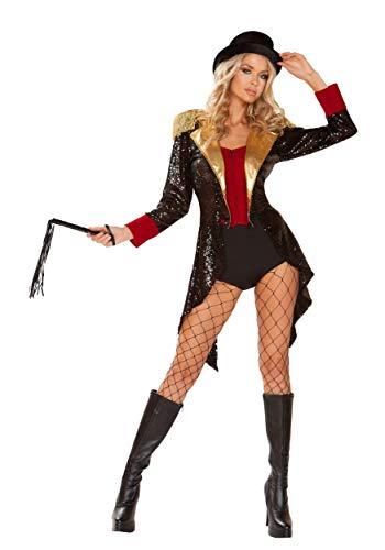Womens Sexy Ringmaster Fancy Dress Costume - Ringmaster Sexy Kostüm