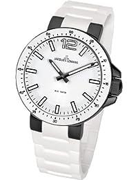 Jacques Lemans Unisex-Armbanduhr Analog Quarz Silikon 1-1709P