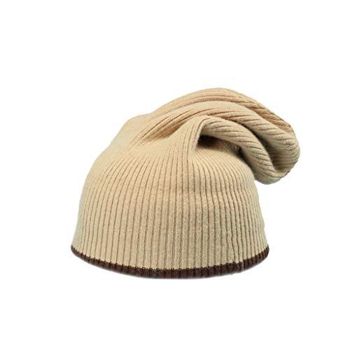 Nosterappou Stilvolle Persönlichkeit berühren weichen und bequemen warmen Studentenhut im Freien, warme Winterhaufen des weiblichen Winters, dicken kalten Hut des Mannes, elastischer Kopfumfang, ()