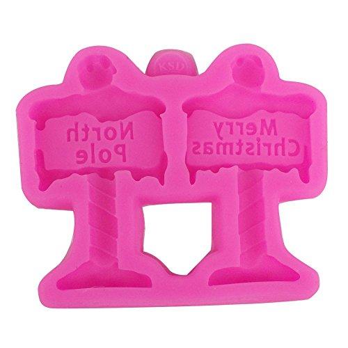 su-luoyu Gebäckform Kuchenform Jelly Schimmel Schokoladenform Silikonform Hygiene Hohe Temperaturbeständigkeit 9.2*7.9*1CM