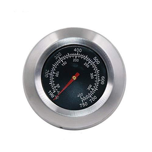 Bar.B.Q.S 01T04 Barbecue Grill 76mm Grill Ofen Thermometer Smoker Grill Thermometer Thermometerbereiche von 50 bis 400 ℃/100-750 ℉ Fahrenheit Gartemperatur
