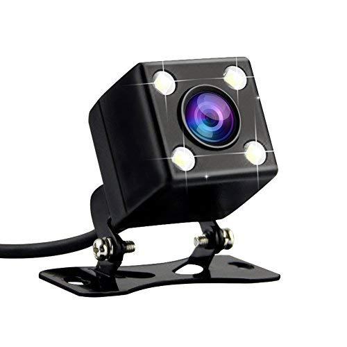 Rückkamera Rearcam für Azdome GS63H /M06 4K Dashcam Auto Rückkamera - 2.5mm (4 Pin) 170 Blickwinkel 640 * 480 Pixel mit 4 LEDs, Nachtsicht, IPX67 Wasserdicht für Dash Cam DVR Video Recorder WR01