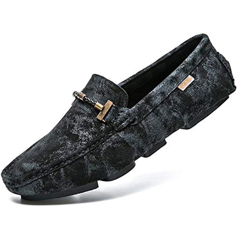 Zgsjbmh Design Doux et léger, Unique Moccasin-Gommino Chaussures... Hommes Suede Low Cut Chaussures Confort Flats Business Chaussures... Moccasin-Gommino - B07H2FFP7F - d2860e