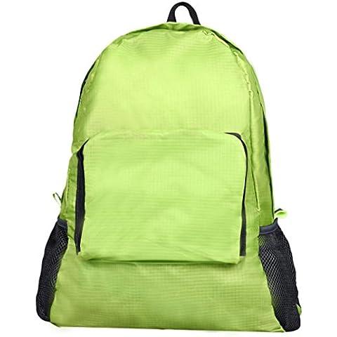 Anglewolf Le Donne Pieghevoli Doppio Della Spalla Del Luce Esterna Sport Backpack