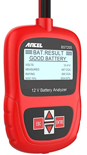 ANCEL BST200 Auto Batterietester 12 V 100-1100 CCA Automotive Bad Cell Test Tool Digital Analyzer