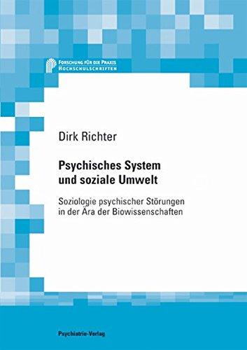 Cover »Psychisches System und soziale Umwelt«