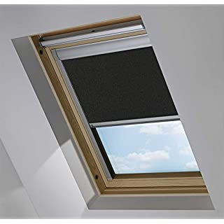 Blackout Roof / Skylight blinds For Velux GGL/GPL/GHL (BLACK 0009 (SYS F), P10/410/3)