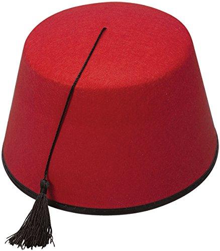 RED FEZ HAT (gorro/ sombrero)