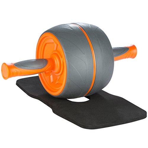 Ultrasport Premium Bauchtrainer AB, Fitnessgerät für zuhause in besonders stabiler Ausführung zum Trainieren der Bauchmuskeln sowie Rücken und Schultern, Orange