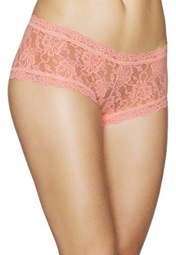Hanky Panky - Signature Lace Boyshort - Panty - Ballet Pink, Größe XS, Farbe Ballet Pink (Panky-signature Hanky Boyshort Lace)