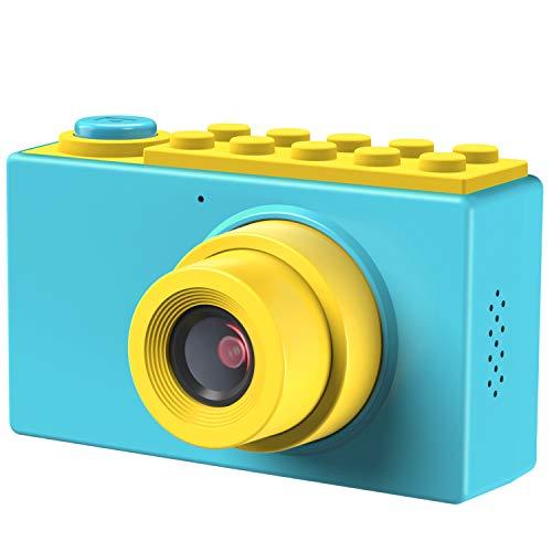 Kriogor Fotocamere Digitali per Bambini, Kids Camera Videocamera Zoom Digitale con HD 1080 /8 Megapixel/ Schermo LCD da 2 Pollici/Scheda TF da 256M