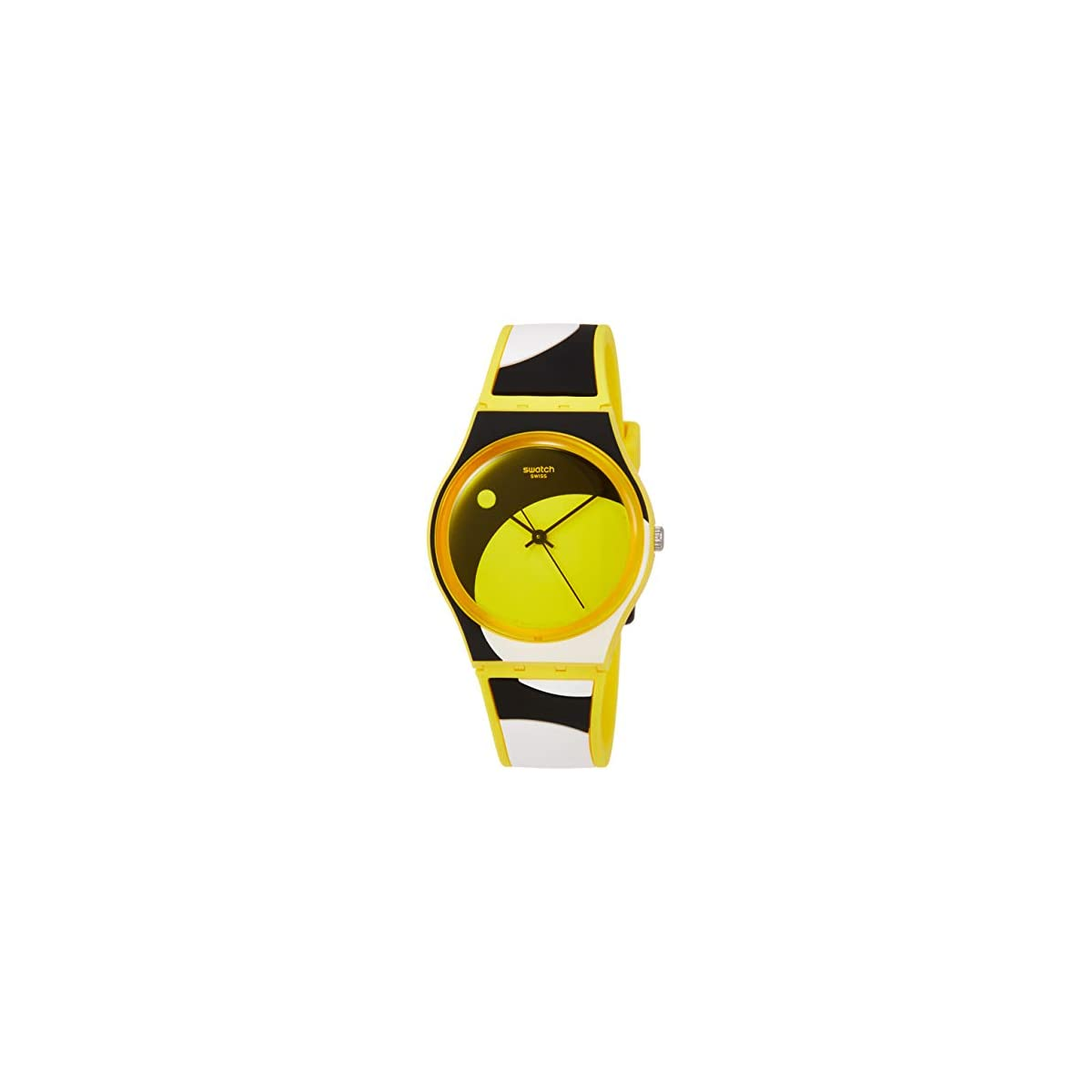 41DN8KvMNoL. SS1200  - Swatch Reloj Analógico para Unisex Adultos de Cuarzo con Correa en Silicona GJ139