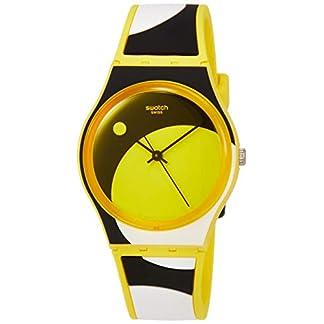 Swatch Reloj Analógico para Unisex Adultos de Cuarzo con Correa en Silicona GJ139