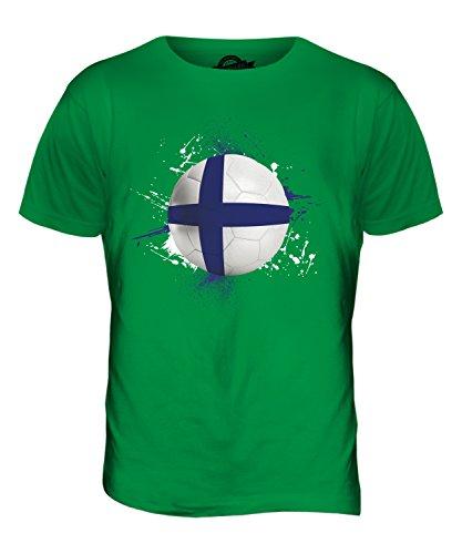 CandyMix Finnland Fußball Herren T Shirt Grün