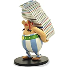 Astérix - Obélix cargando pila, figura, 25 cm (Plastoy PLY00000124)