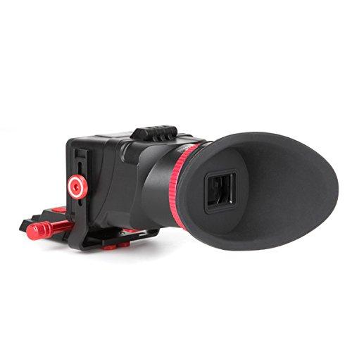 Carry Speed CS038Sucher VF für Kameras mit Display von 3,2Zoll schwarz/rot Vf-lcd