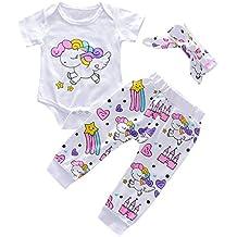 Amazon.es  ropa de bebe niña recien nacida - Blanco 224d1ee3ac24