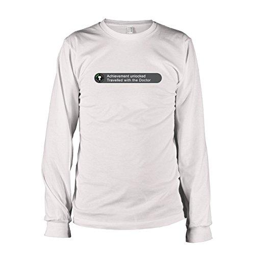 TEXLAB - Doctor Box Achievement - Langarm T-Shirt Weiß
