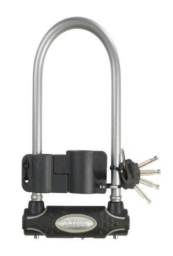 Master Lock Candado antirrobo para Bicicletas en U de Acero Reforzado
