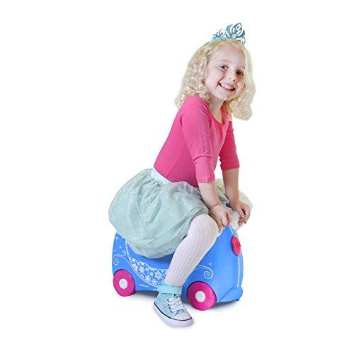 Trunki Ride-On Suitcase Bagage Enfant, 46 cm, 18 L, Princesse